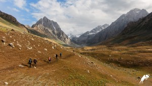 Expedition in Zarafshan valley, Tajikistan