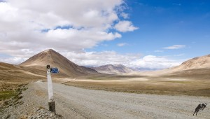 Jeep tour in Pamir High way
