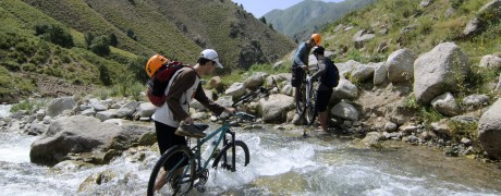 Mountain bike tour in Yagnob