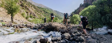Short trekking around Dushanbe