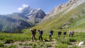 Trekking in Fann mountains