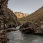 Trekking in yagnob valley, from Margheb to Pskand