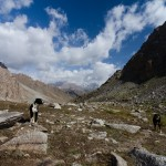 Climbing in Fann Mountains, Tajikistan