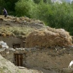 Pamiri Store House in Zong Village, Wakhan Valley, Pamir