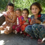 Girls from Bartang, Pamir, GBAO, Tajikistan