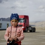 A girl from Alichur Village, Pamir highway, Tajiksitan