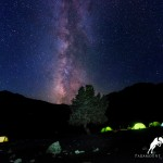 Photos of Milky way in Fan Mountains, Tajikistan