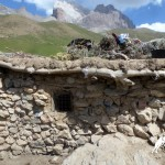 yagnobi house in yagnob valley, tajikistan