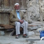 wise old man, marghib village, Tajikistan