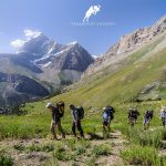 Hiking in Fann mountains